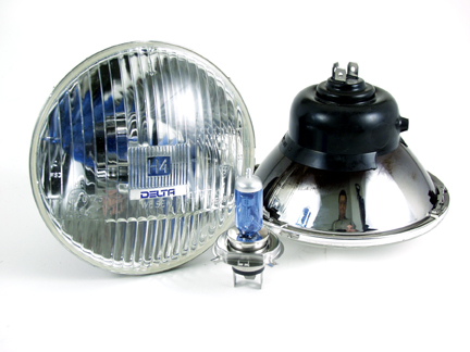 "5 3/4"" H4 HI BEAM XENON HEADLIGHT"