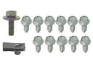65-70 GAS TANK MOUNTING SCREWS