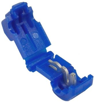 "18-14 AWG (BLUE) ELECTRICAL WIRING 0.250"" TAB SNAP T-TAP / SPLIC"