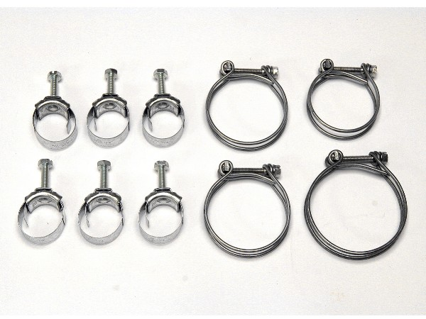 BIG BLOCK HOSE CLAMP KIT