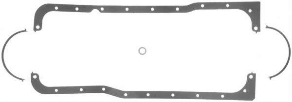 221/255/260/289/302 RUBBER COATED FIBER OIL PAN GASKET SET