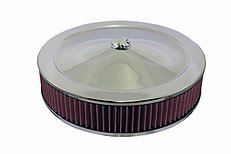 "14"" X 3"" ROUND ALUMINUM AIR CLEANER"