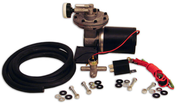 UNIVERSAL ELECTRIC VACUUM PUMP FOR POWER BRAKES