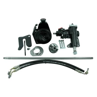 "LATER 67 V8 POWER STEERING CONVERSION KIT - 1 1/8"" SECTOR"