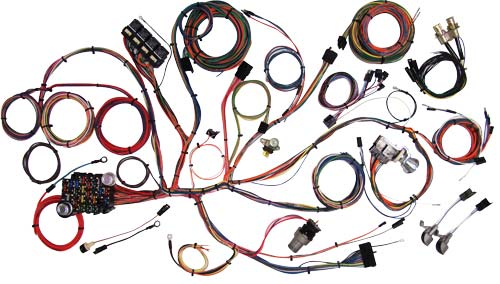 67-68 MUSTANG - COMPLETE WIRING KIT