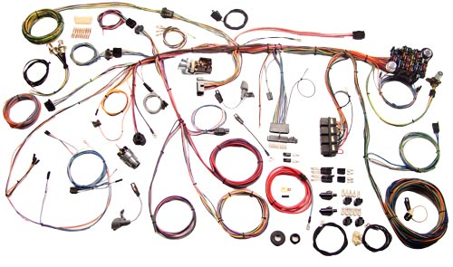 70 MUSTANG- COMPLETE WIRING KIT