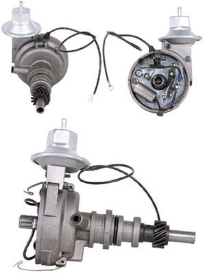 65-71 6 CYL DISTRIBUTOR W/SINGLE VACUUM