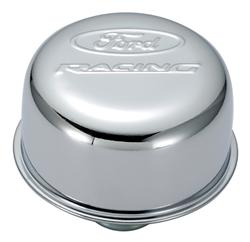 FORD RACING CHROME PUSH-IN BREATHER CAP