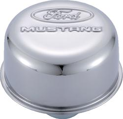 FORD MUSTANG CHROME PUSH-IN BREATHER CAP
