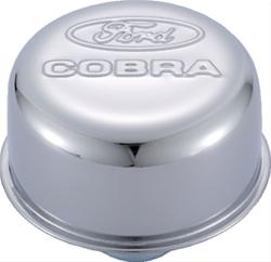 FORD COBRA CHROME PUSH-IN BREATHER CAP