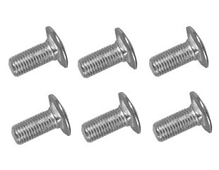 65-66 SHOCK TOWER BOLTS - 6 PCS