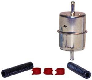 "IN-LINE FUEL FILTER - 1/4"" INLET & OUTLET - 60 PSI"