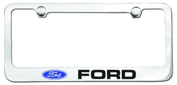 PLATE FRAME- FORD (BLOCK LETTERS)