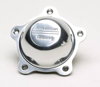 AMERICAN RACING TORQ-THRUST D, TROQ-THRUST 2 POLISHED CENTER CAP
