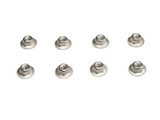 64-66 CONCOURSE TAIL LIGHT NUTS, 8PCS