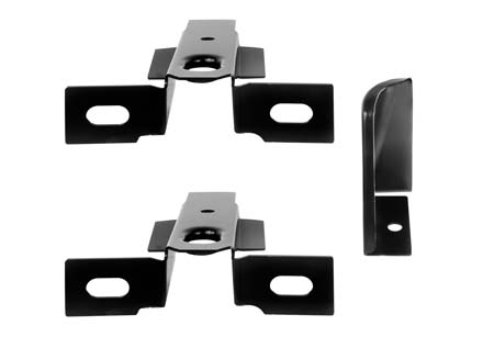 69-70 INNER TRUNK MOUNTING BRACKETS - 3PCS