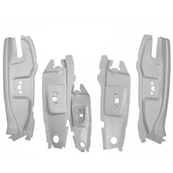 65-66 QUARTER JAM B PILLAR SET - ALL BODY STYLES