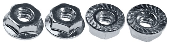 65-70 BACK-UP AND PARKING LIGHT NUTS - 4 PCS