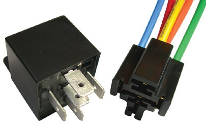 5 PIN 12V 30-40 AMP RELAY WITH PIGTAIL