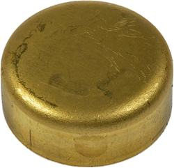 "1"" BRASS FREEZE PLUG"