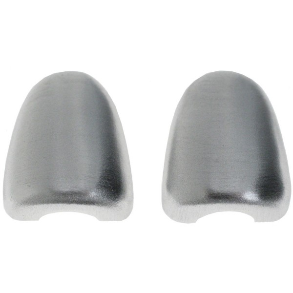 2005-07 STAMPED ALUMINUM WINDSHIELD WASHER NOZZLE COVERS