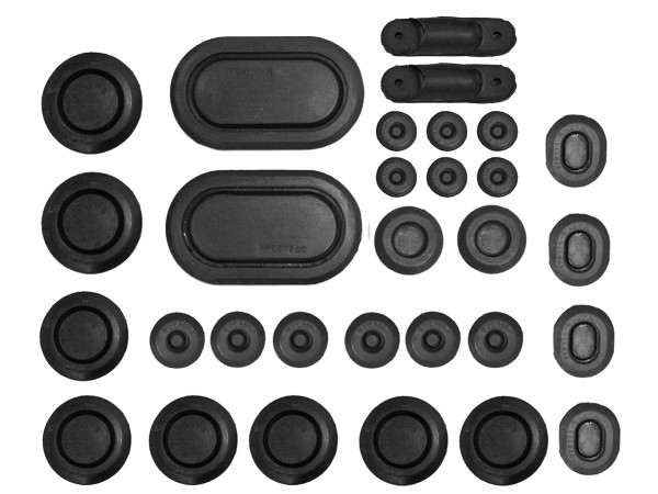65-66 RUBBER PLUG KIT