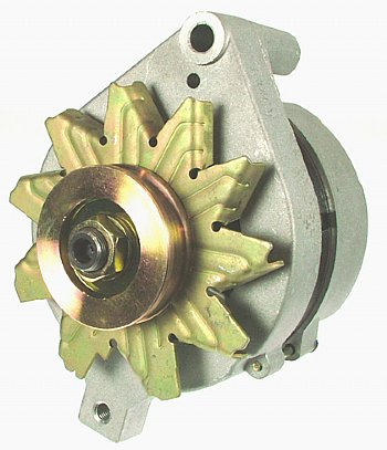 1 WIRE ALTERNATOR 65-75 AMP NATURAL FINISH