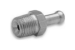 "1/4"" MALE PIPE THREAD X 3/8"" HOSE FITTING - CLAMP STYLE"