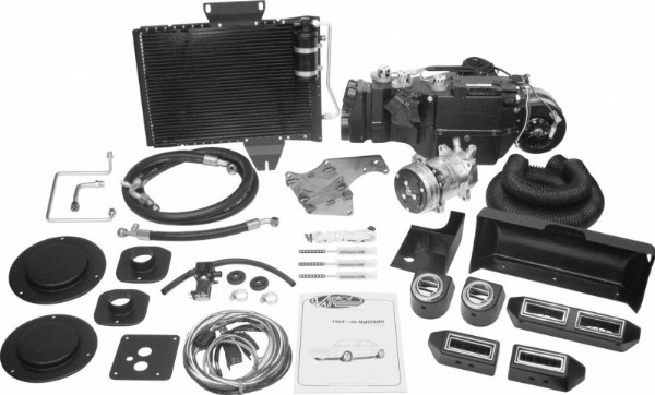65-66 FALCON VINTAGE AIR SURE FIT GEN IV KIT - 134A