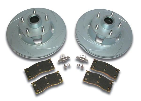 64-67 TURBO SLOTTED ROTORS & PERFORMANCE PADS