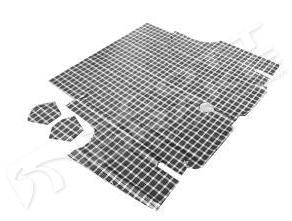 65-66 COUPE/CONVERTIBLE REPLACEMENT TRUNK MAT - PLAID