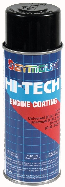 UNIVERSAL ENGINE BLACK PAINT