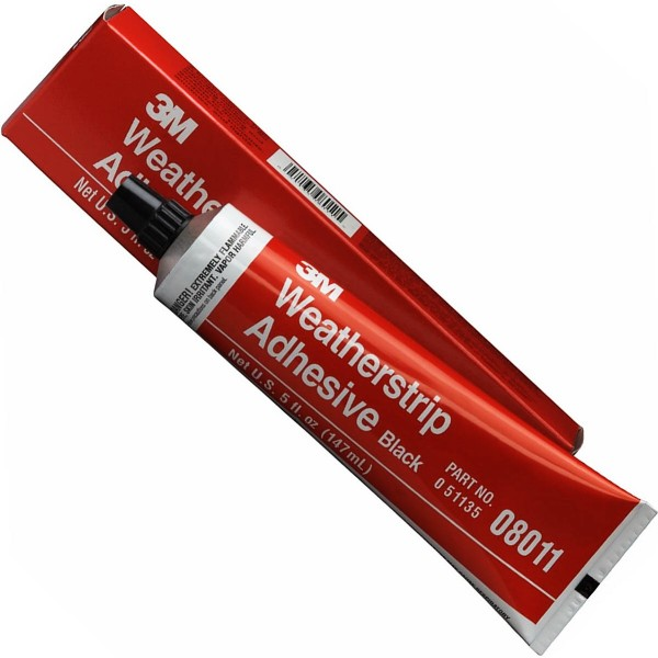 3M BLACK SUPER WEATHERSTRIP ADHESIVE - FOR EPDM RUBBER