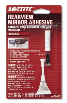 LOCTITE REAR VIEW MIRROR ADHESIVE