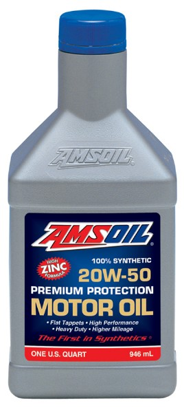 AMSOIL - SYNTHETIC HIGH ZINC 20W50