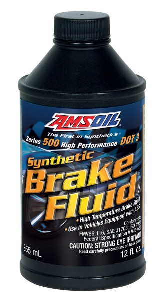 AMSOIL - SYNTHETIC DOT-3 BRAKE FLUID