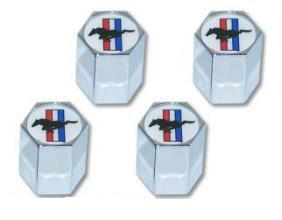 TRI-BAR MUSTANG VALVE STEM CAPS