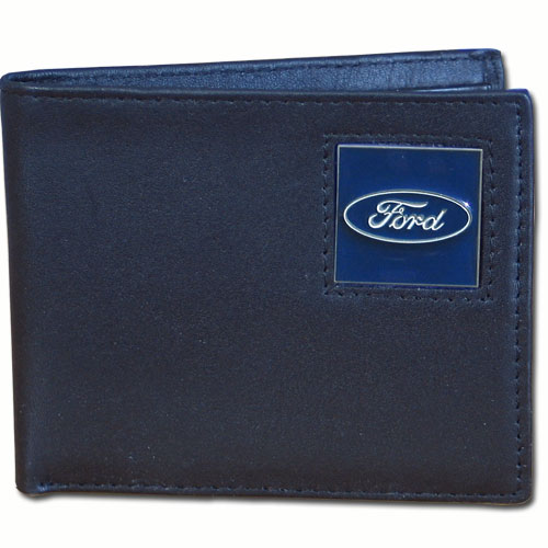 FORD GENUINE LEATHER BI-FOLD WALLET