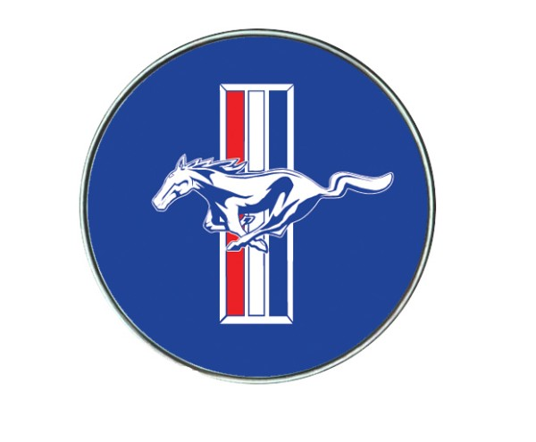KEY FOB EMBLEM ONLY - MUSTANG