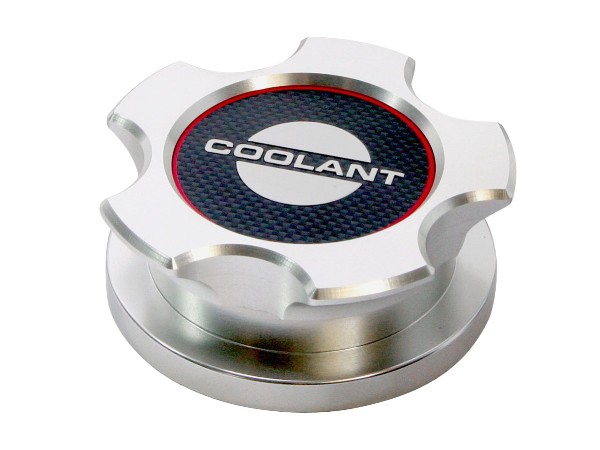 2005-14 BILLET ALUMINUM COOLANT RESERVOIR CAP COVER