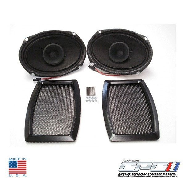 65-71 6X9 REAR SPEAKER & GRILLE KIT