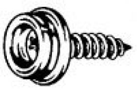 "#8 X 5/8"" STUD FASTNERS PHILLIPS - SCREW IN TOP SNAPS - STAINLES"