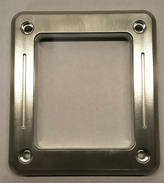 65-68 BILLET SHIFT BEZEL - WITH ACCENT