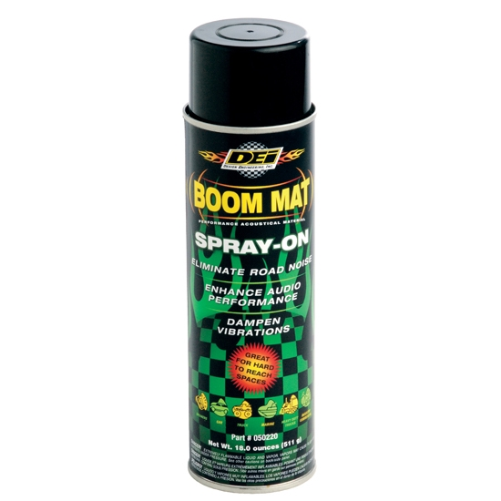 BOOM MAT THERMAL ACOUSTIC CONTROL - SPRAY ON - 18 OZ