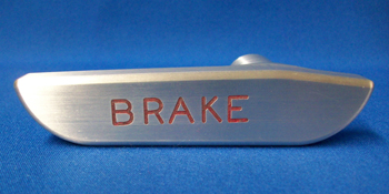 65-66 BILLET PARKING BRAKE HANDLE - SATIN