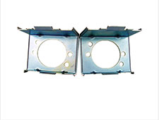 62-63 FALCON PARKING LIGHT RETAINERS - PAIR