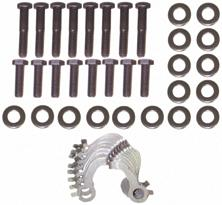 62-65 260/289 EXHAUST MANIFOLD BOLT KIT - 40 PCS