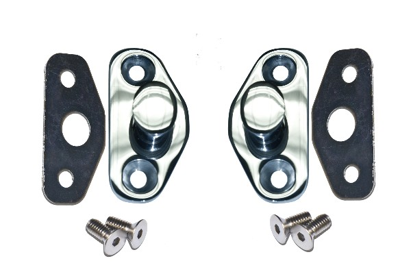 64-66 STRIKER PLATE - STAINLESS STEEL
