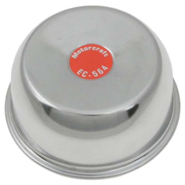 65-70 CHROME TWIST ON OIL BREATHER CAP - MOTORCRAFT