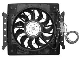 64-66 ELECTRIC FAN & SHROUD